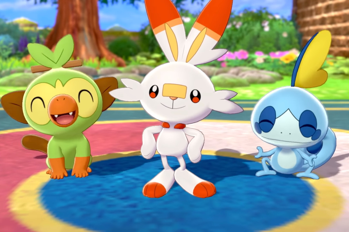 Pokémon Sword en Shield starters