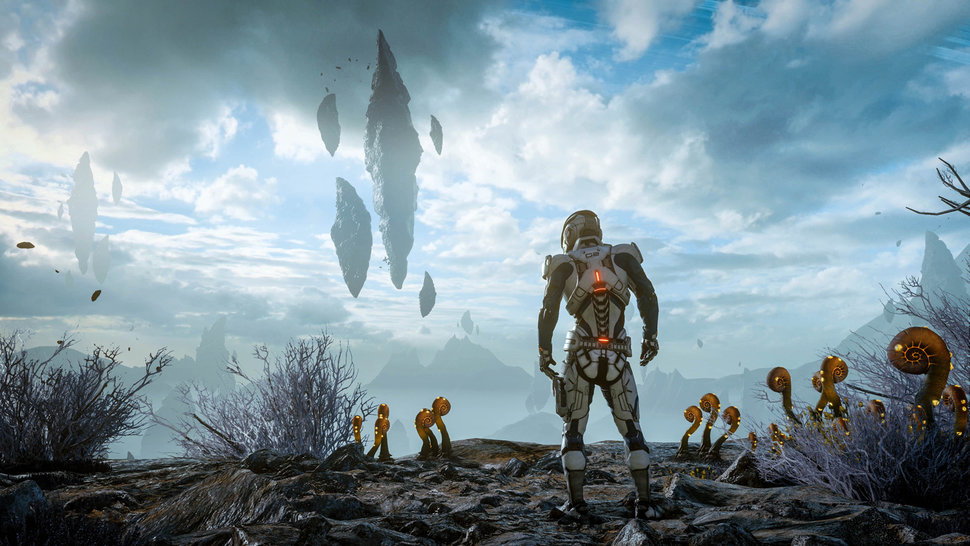 Mass Effect, funky plants in outerspace