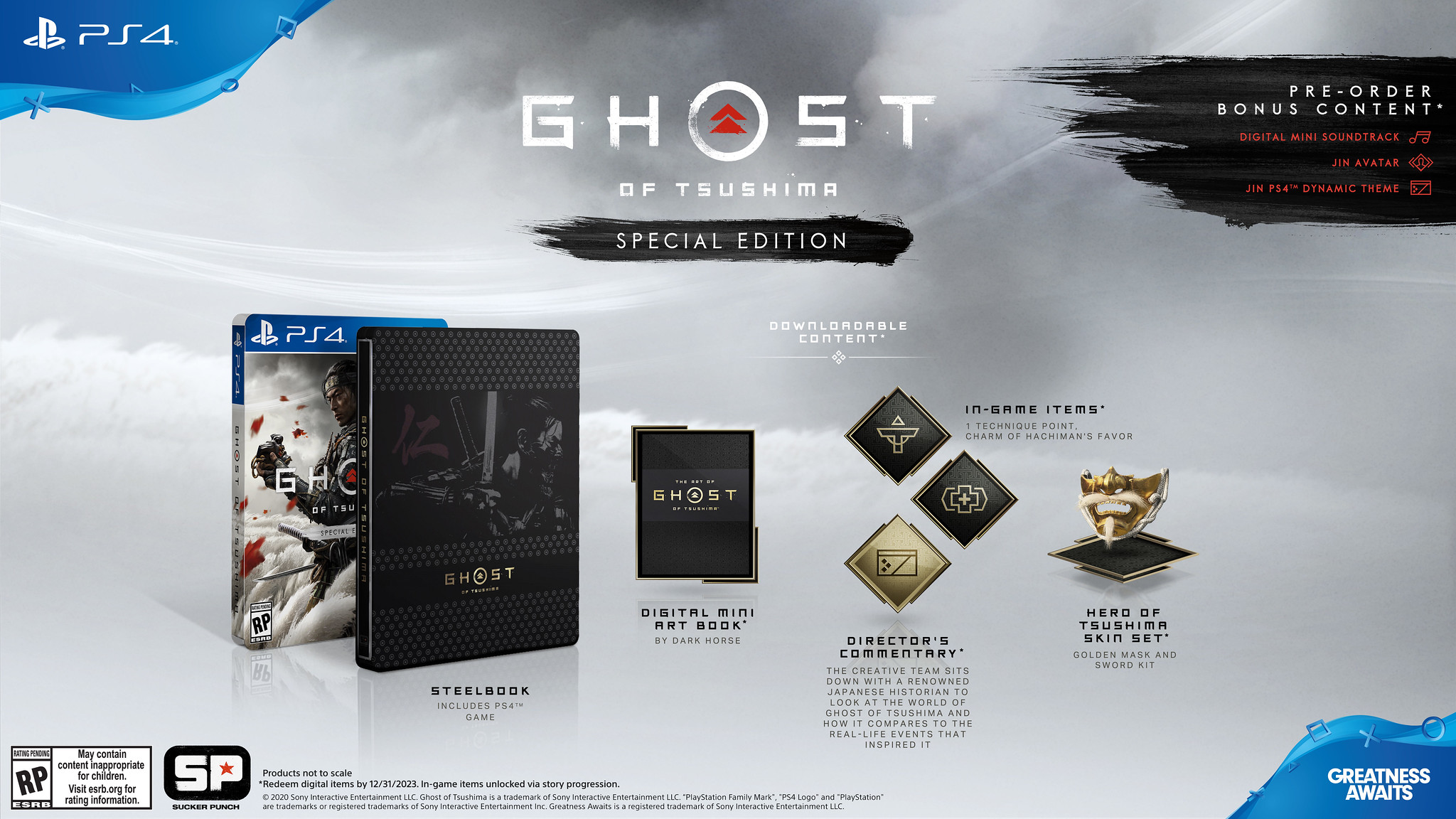 Special Edition Ghost of Tsushima