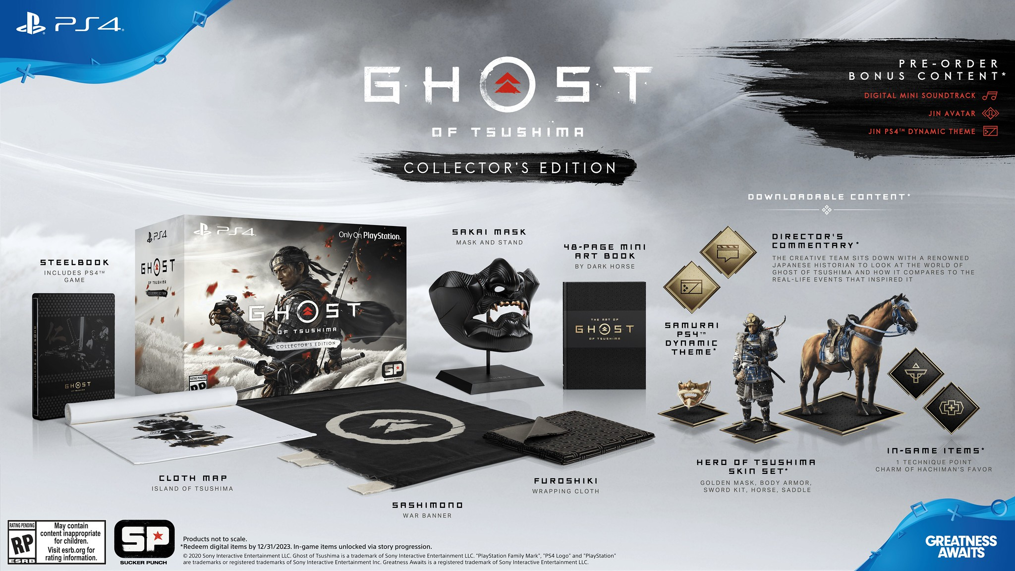 Collector's Edition Ghost of Tsushima