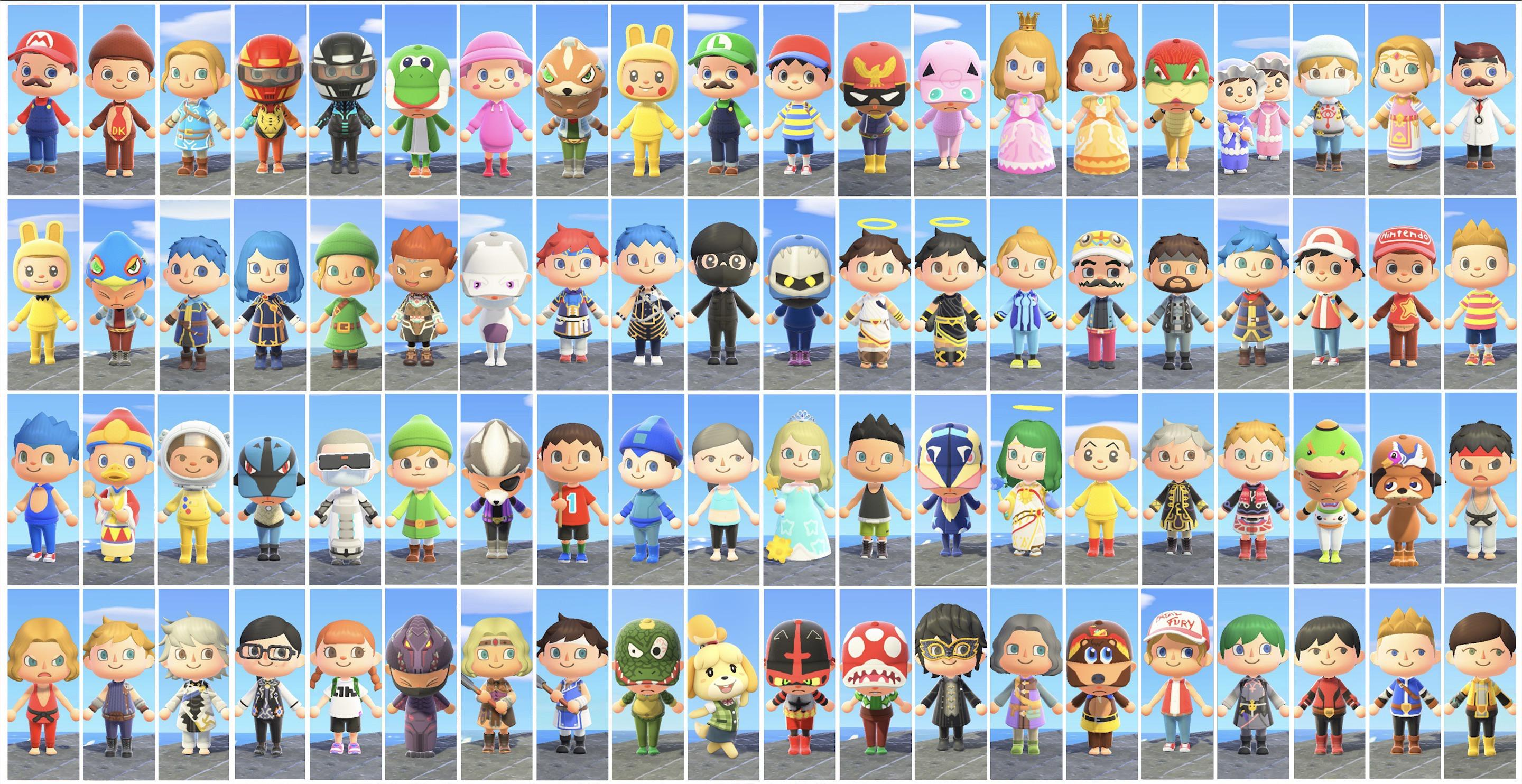Super Smash Animal Crossing Bros. New Ultimate Horizons