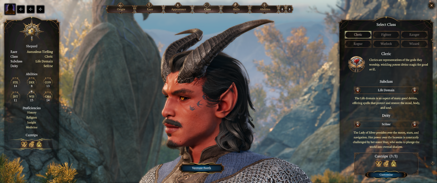Baldur's Gate III Customization