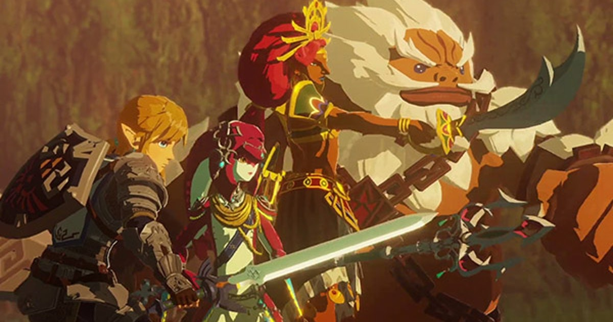 Hyrule Warriors: Age of Calamity characters