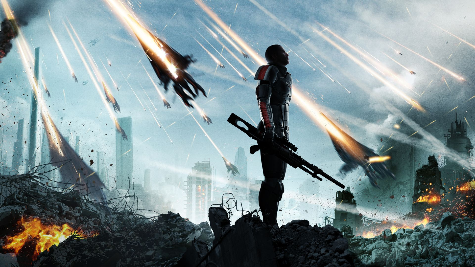 Mass Effect attack