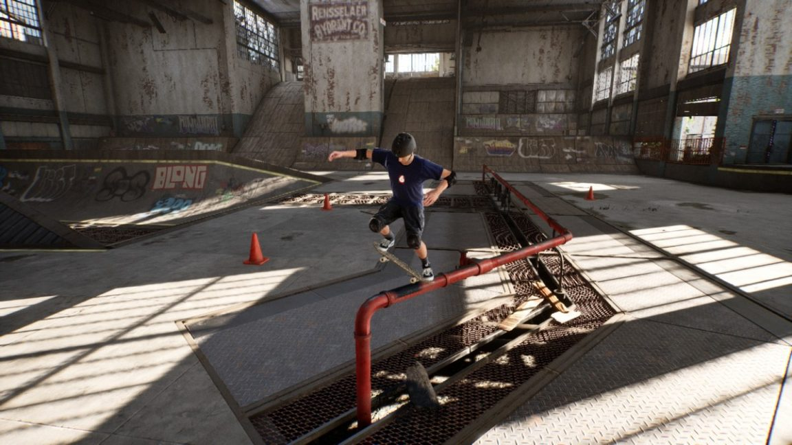 Tony Hawk's Pro Skater challenges