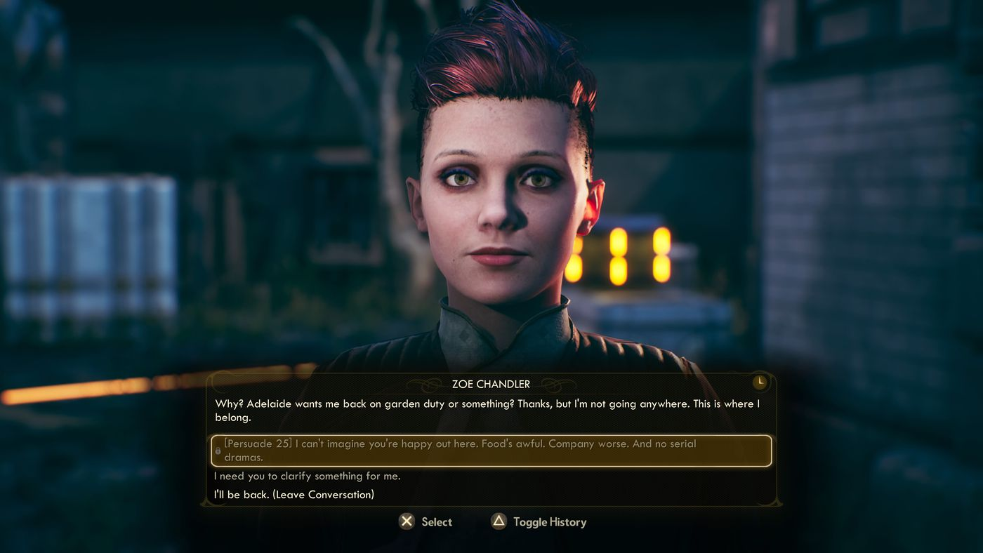 The Outer Worlds - NPC