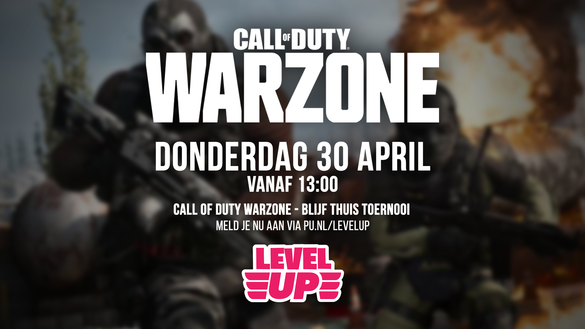 Blijf Thuis Warzone Toernooi