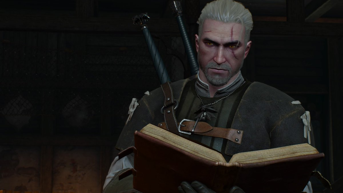 Witcher reads